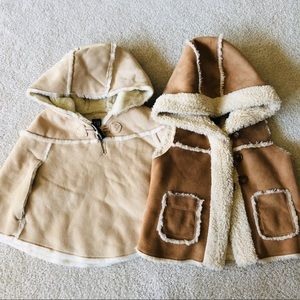 Baby Gap Cape and Vest Bundle